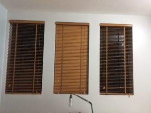 Rèm gỗ lắp tại Chung cư CT8 Mỹ Đình
