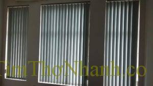 Rèm chớp nhựa mềm, khe sáng dọc là rèm lá dọc 160k/m2