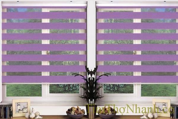 rèm cầu vồng vẻ đẹp riêng, loại rèm này cũng là lựa chọn lý tưởng cho cửa kính trong phòng