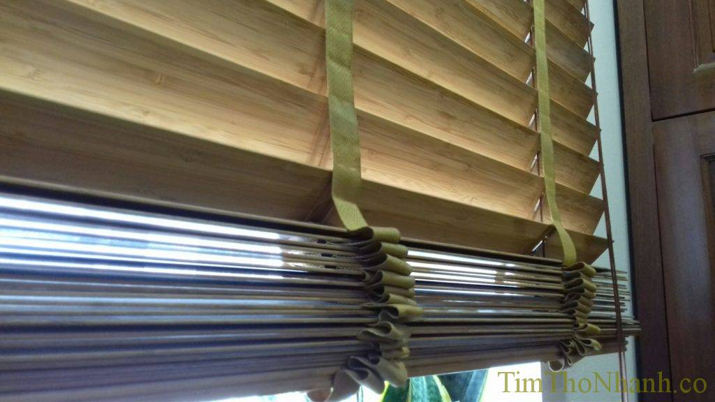 Rèm gỗ cản sáng đẹp 550.000/m2