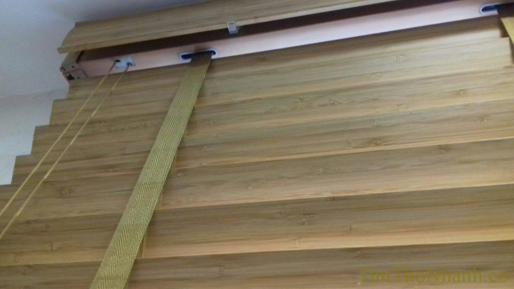 Rèm gỗ cản sáng bền đẹp