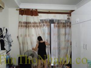 Lắp rèm giá rẻ 150k/bộ tại đường Lương Thế Vinh – Hà Nội