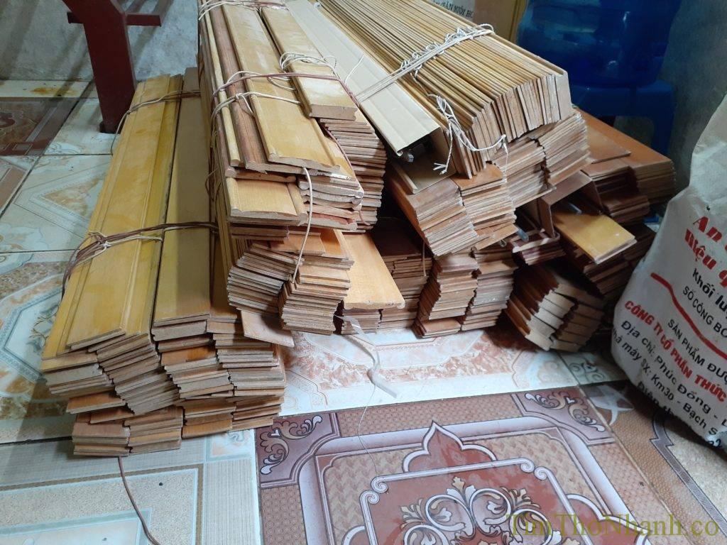 Rèm gỗ em nhận thu mua