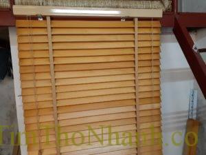 Thanh lý rèm gỗ đã qua sử dụng còn mới 90% giá 250k/m2