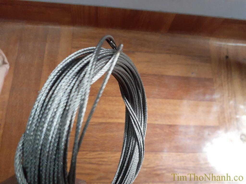 Cuộn dây cáp inox 304 bền chắc chắn không gỉ