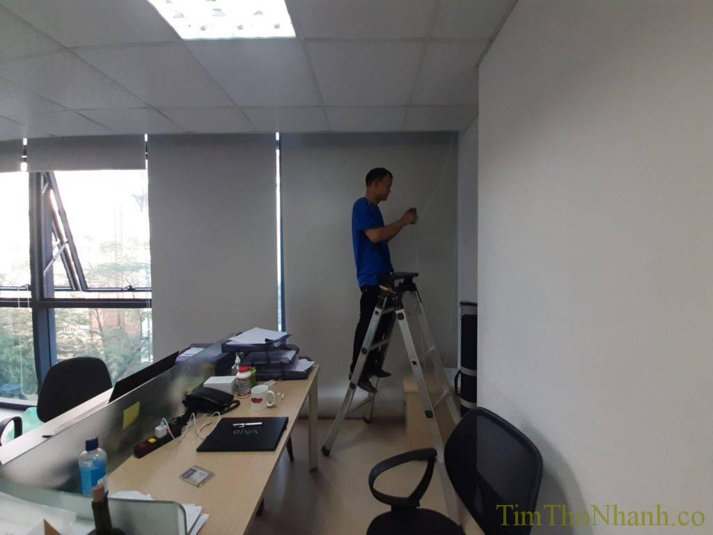 Sửa chữa rèm cửa văn phòng tại HH
